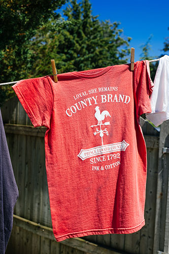 County T-shirts